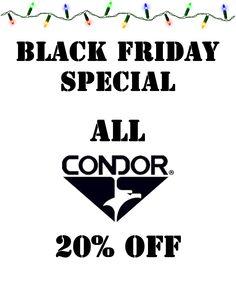 Condor Outdoor products!