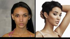 Kanani Andaluz (Before and After) . America's Next Top Model, Cycle 20: Guys & Girls > Makeovers