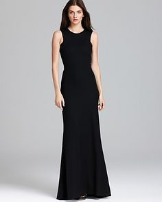 LA't by L'AGENCE Dress - Sleeveless Long | Bloomingdale's