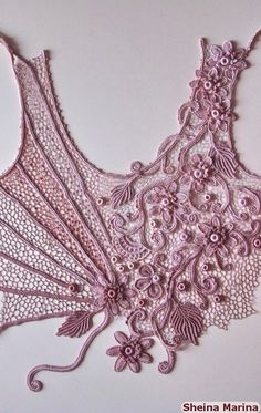 Exquisite. A bodice for a dress