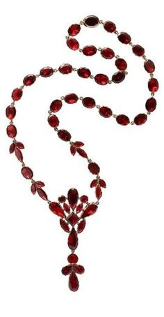 8 of the Best Online Shops for Vintage Jewelry and Accessories Garnet Jewelry, Garnet Necklace, Red Jewelry, Sea Glass Jewelry, Luxury Jewelry, Antique Jewelry, Jewelry Gifts, Vintage Jewelry, Fine Jewelry