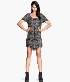H&M Summer 2014 Krinklad klänning