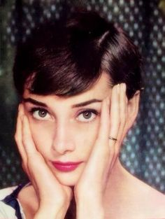 "Audrey Hepburn ""Oh that beautiful face"""