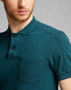 Borman Polo Shirt - Dark Sapphire Jersey Shirts and Tops