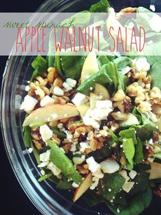 Apple Walnut #Salad  #Food