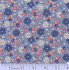 Blue Floral p/n 2435-0350
