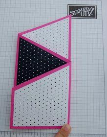 Julie Kettlewell - Stampin Up UK Independent Demonstrator - Order products 24/7: Tri-fold card tutorial