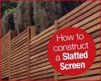 Horizontal Cedar Fence   Western Red Cedar Slatted Screen Boards 19 x 94mm
