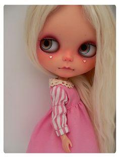 OOAK Custom Blythe Doll #13 by ☆彡Natt 彡☆AWAY...☠, via Flickr
