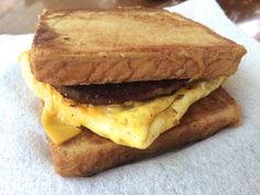 Review: French Toaster Breakfast Sandwich from Sonic