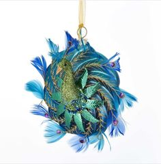 Are you looking for Peacock Christmas Ornaments? You'll find plenty of absolutely beautiful Christmas Peacock Ornaments perfect for your Christmas Decor. Peacock Ornaments, Holiday Ornaments, Glass Ornaments, Christmas Decorations, Holiday Decor, Elegant Christmas, Beautiful Christmas, Christmas Holidays, Peacock Christmas
