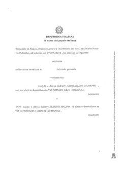 Studio Legale Buonomo - Diritto Previdenziale ed Assistenziale: Indebito previdenziale: Sentenza del Tribunale di ...