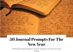 Journal prompts for those who don't complete their New Year's Resolutions Journal Prompts, Writing, News, Being A Writer, Journal Pages
