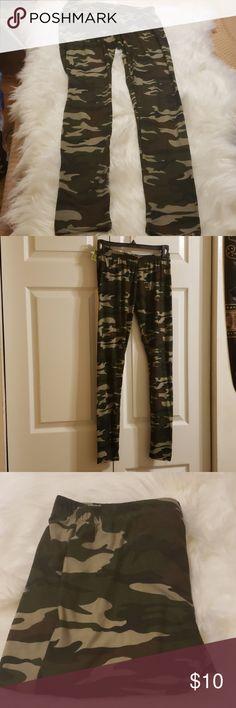 159b90aa16e0d Hot Kiss Army Fatigue Leggings (One Size) Army Fatigue Leggings. One size  fits