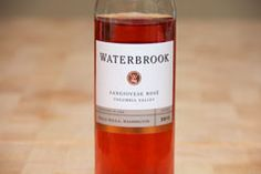 2012 Waterbrook Sangiovese Rosé #WAwine #Wine  you might want to check out the 2012 Waterbrook Sangiovese Rosé from the Columbia Valley of Washington State.
