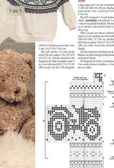 Cross Stitch Stocking, Lace Knitting Patterns, Cross Stitch Designs, Baby Knitting, Free Pattern, Diy And Crafts, Knit Crochet, Weaving Patterns, Bed Covers