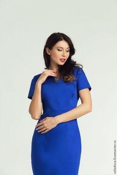 Casual dress / Состав: 70% - хлопок, 26% - полиамид, 4% - лайкра  Размеры:  44, 46, 48, 50, 52, 54, 56, 58  Уточняйте наличие размеров.  При единовременной покупки 2 вещей и более предоставляется скидка.