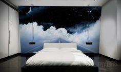Amazing Night Sky Wall Murals | pixersize.com / blog