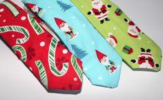 Christmas Boy's Ties - The Supermums Craft Fair