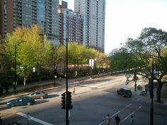 The corner of Fairbanks & Chicago Ave.