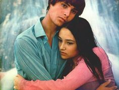 Leonard Whiting and Olivia Hussey