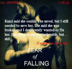 "release ""Fear of Falling by Syreeta Jennings She Is Broken, Fear Of Falling, Fallen Book, Book Trailers, Some People Say, Book Suggestions, Books For Boys, Book Boyfriends, Save Her"