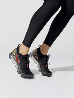 2b1e87a17788 Women's Nike Air Vapormax Flyknit 2 Gold Sneakers, Gold Fashion, Leather  Fashion, Fashion