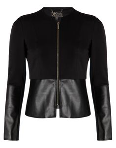 Kardashian Peplum Jacket in Black.. oh what I could do with this!