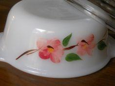 Peach blossom fire king mini casserole for one