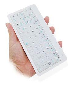 Mini wireless backlit keyboard...especially like backlit feature. $59.00