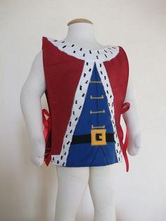 Dress up http://www.etsy.com/listing/115917051/kids-king-fancy-dress-costume