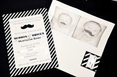 Hudson & Bryce's Mustache Bash   Project Nursery