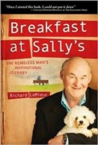 Book discussion questions on nonfiction book Breakfast at Sallys by Richard LeMieux