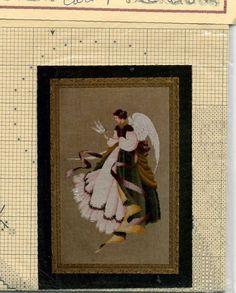 Lavender & Lace Victorian Designs Cross Stitch Pattern ANGEL OF GRACE.