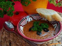 gazpacho - studená španielska rajčinová polievka