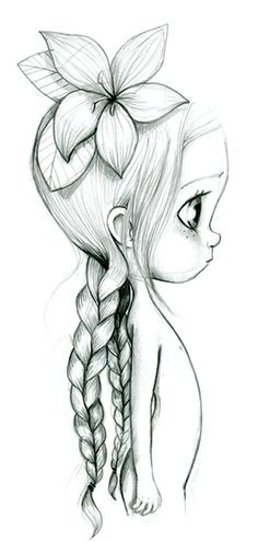"Wild illustration©emmanuelle ""Wild child"" So cute and sweet makes me wish I could draw. Cute Drawings, Drawing Sketches, Pencil Drawings, Drawing Ideas, Art And Illustration, Illustrations, Art Mignon, Inspiration Art, Wild Child"