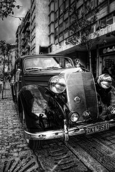 HDR Vintage auto