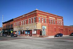 Alpena, Michigan - Thunder Bay Theatre. Fine Art Photography.