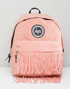 Buy Hype Backpack with Fringed Pocket at ASOS. With free delivery and return options (Ts&Cs apply), online shopping has never been so easy. Get the latest trends with ASOS now. Asos Online Shopping, Online Shopping Clothes, Latest Fashion Clothes, Fashion Online, Hype Logo, Fashion Backpack, Latest Trends, Backpacks, Mens Fashion