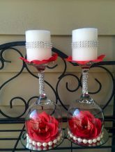 Romantic wedding candlelight decorations ideas (65)