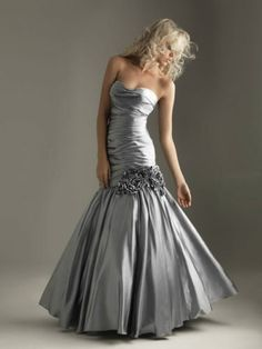 Another option for the ball. Can I pull off a mermaid style?