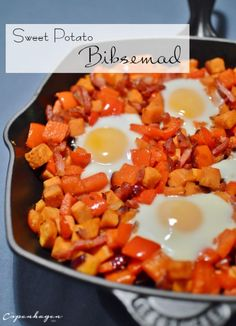 Sweet potato hash (biksemad) - recipe in English from The Copenhagen Tales