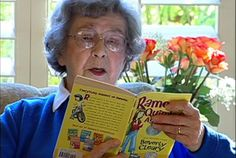 12 Charming Tidbits About Beverly Cleary   Mental Floss yes I HAVE pinned this three times because it's freakin' BEVERLY CLEARY and she's better than The Pope and Mr. Rogers put together and that's saying a LOT.
