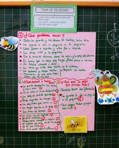 Destrezas de Pensamiento: toma de decisiones Ejemplo de uso en Educación Infantil