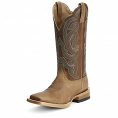 Ariat Tan Antonia Ranch Cowgirl Boots - Cowgirl Boots - Boots #Cowboy Cupid Be Mine