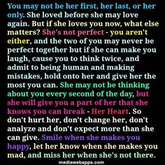 Don't change her, don't analyze, she may be hard to read but when her guard is down, there's never a doubt what she's feeling! Only time brings down walls. Words Quotes, Wise Words, Sayings, Quotes Quotes, Love Quotes With Images, Quotes To Live By, Troubled Relationship Quotes, Broken Relationships, You Are Perfect