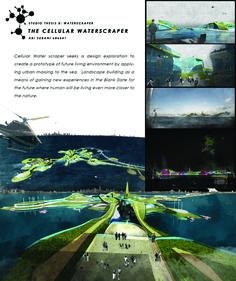 MSD M.Arch S2/16 - Abi Subani. Studio Thesis 08 - Waterscraper. Tutor: Toby Reed.