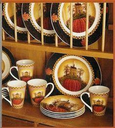 Autumn Splendor Dinnerware Set