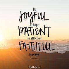 Romans 12:12 - Inspirations