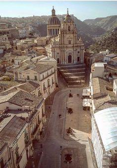 Duomo di S. Giorgio dall'alto, Ragusa